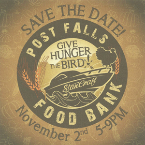 Post Falls Food Bank: Save the Date